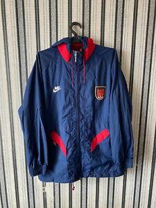 Rare ARSENAL LONDON 1994 1995 jacket NIKE premier size M VINTAGE Excellent