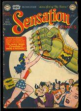 Sensation Comics #99 Nice Golden Age Wonder Woman DC Comic 1950 GD-VG
