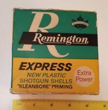 "VINTAGE CANADIAN EXPRESS ""REMINGTON 20 GUAGE SHOTGUN SHELLS"" CARDBOARD BOX-EMPTY"