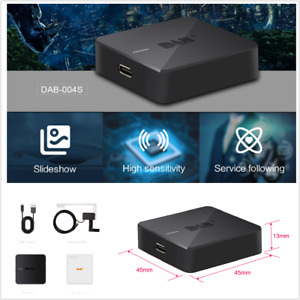 Portable DAB+ Digital Audio Broadcasting Receiver Box Antenna Fit For Android