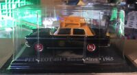"DIE CAST "" PEUGEOT 404 BUENOS AIRES - 1965 "" 1/43 TAXI SCALA 1/43"
