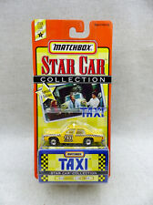 "Matchbox Star Car Collection Sunshine Cab # 804 de Série TV  ""Taxi"" Neuf/Blister"