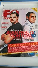 F1 racing magazine Jan 2002 Juan Pablo Montoya
