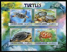 SIERRA LEONE 2017 TURTLES SHEET MINT NH