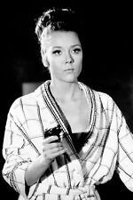 Diana Rigg On Her Majesty's Secret Service gun and nightgown 11x17 Mini Poster