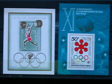 RUSSIE '1972 * MH BF73+BF76 YT 6,50 EUR SPORTS,JEUX OLYMPIQUES,HALTEROPHILIE