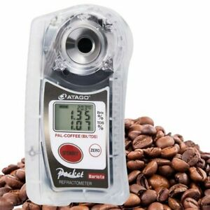 ATAGO Pocket Coffee Cafe Densitometer PAL-COFFEE BX TDS Brix and TDS Orig.B NEW