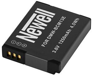 Akku Battery Newell DMW-BCM13E für Panasonic FT5 FT6 TS5 TS6 TZ40 TZ41 TZ55 TZ57
