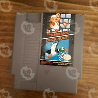 Super Mario Bros Duck Hunt ( Nintendo NES ) Cartridge - Tested