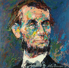 """Leroy Neiman      """"Abraham Lincoln""""   MAKE  OFFER"""