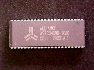 AS7C34098-10JC - Alliance  4Mb (256K X 16) 10nS SRAM (SOJ-44)
