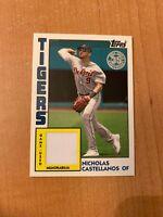 2019 Topps Series 1 - Nicholas Castellanos - #84R-NC 1984 Topps Baseball Relic