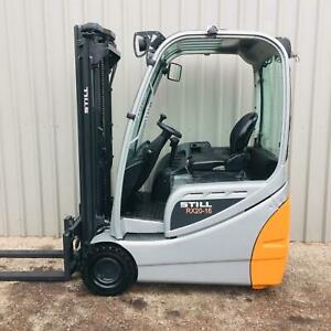 STILL RX20-16. USED 3 WHEEL ELECTRIC FORKLIFT. (#3433)