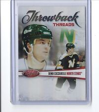 2010-11 CERTIFIED DINO CICCARELLI RED THROWBACK THREADS SP /250 #10 NORTH STARS