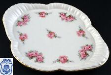 Keramik Tablett Roesler Rosendekor um 1920 99845064