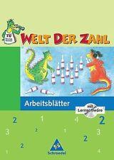 Welt der Zahl 2. Arbeitsheft mit CD-ROM. Für Berlin, Brandenburg,...