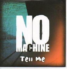 (AF984) No Machine, Tell Me - DJ CD