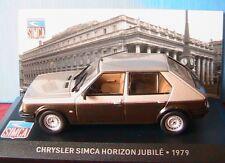 CHRYSLER SIMCA HORIZON JUBILE 1979 IXO 1/43 TALBOT MARRON & GRISE BROWN AND GREY