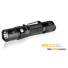 Fenix PD32 (2016) Tactical 900Lumens Cree XP-L HI 18650 Searching LED Flashlight