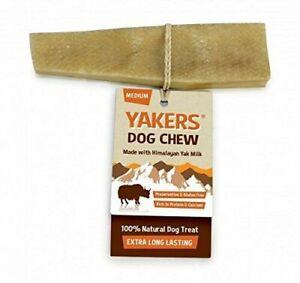 Yakers Dog Chew Medium- Natural Himalayan Medium Yak Milk Dog Treat