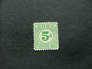 Fiji 1940 5d emerald-green Postage Due SGD15 MM