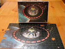 1977 Space Warriors Colorforms Outer Space Man Alien Puzzle Alpha 7