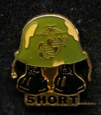 US MARINE DIGIT MIDGET SHORT TIMER USMC HAT PIN MARINES MCAS MCB USS HELMET MR