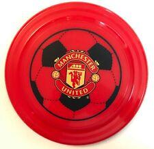 Manchester United Frisbee 23cm diameter red plastic VGC