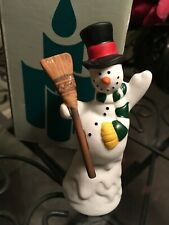 Partylite Snowman Candle Snuffer Retired P7005 includes Box; Excellent Condition