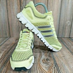 Adidas ClimaCool Revent G56555 Neon Green Women's Running Athletic Shoe Size 7.5