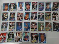 1988 Topps California Angels Team Set of 30 Baseball Cards