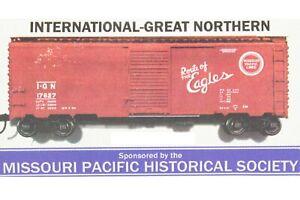 HO Branchline - MoPac Hist Soc International Great Northern 40ft Boxcar New Kit