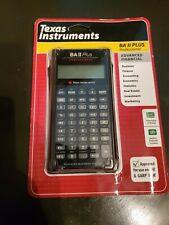 Brand new sealed Texas Instruments BA II 2 Plus Financial Calculator