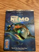 Finding Nemo (2 Disc Collector's Edition Dvd) W/ Slipcover & Original Inserts