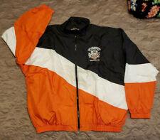Harley-Davidson of Annapolis light Nylon Racing Windbreaker Jacket Men's XL