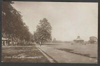 Postcard Perth Scotland view of North Inch and Bandstand early RP by Davidson