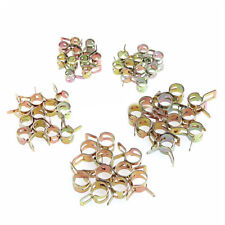50x Spring Clip Fuel Water Line Hose Pipe Air Tube Clamps Fastener 5/6/7/9/8mm