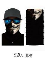1 PCs FACE MASK BANDANA Cover Tube Neck Scarf Headband  Microfiber US Stock