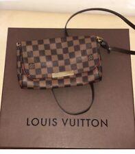 LOUIS VUITTON Favorite PM Damier Ebene Bag Handbag Pochette Clutch