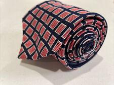 Burberry Men's Pink Plaid Silk Neck Tie $215