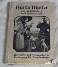 Buch: Bunte Blätter aus Württemberg + Hohenzollern / Fremdenverkehr ~ 1900 /S278