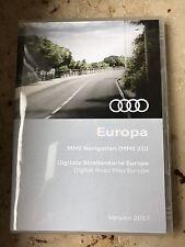 ORIGINALE Audi Navigazione Dvd Europa 2017 navigazione mmi2g 2 DVD 4e0060884er