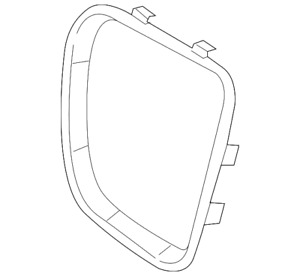 Genuine GM Trim Ring 25877956