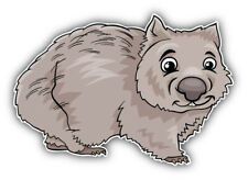 Cute Wombat Marsupial Animal Car Bumper Sticker Decal - ''Sizes'&# 039;