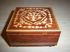 Carillon Svizzero Jewelry Music Box Plays Isola Di Capri 1571 Lador Switzerland