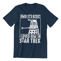 OMG it's R2D2  T-Shirt Dalek Doctor Who Tardis NAVY - Schwarz S - 5XL Pullover