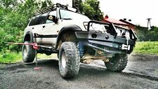 Nissan Patrol Y60, Y61 LWB HD Rock Sliders Side Steps Off Road Hi-Lift