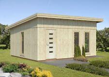160 mm Gartenhaus Annika 548x448 cm Holzhaus Ausbauhaus Nordic Holz Haus