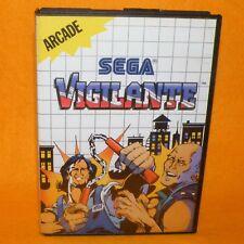 VINTAGE 1989 SEGA MASTER SYSTEM VIGILANTE CARTRIDGE VIDEO GAME PAL (ARCADE)