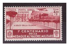 REGNO 1934  -  MEDAGLIE  ESPRESSO AEREO  LIRE 4,50   NUOVO  **
